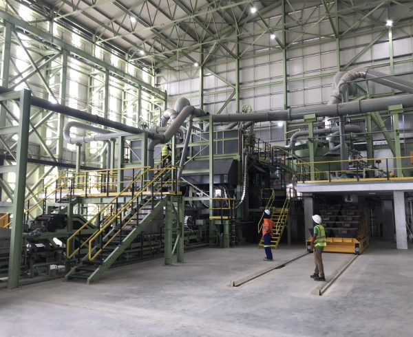 The worlds first clean plant antimony and gold processing facility in Sohar Oman